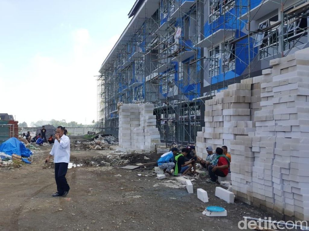 Gaji Belum Dibayar, Pekerja Proyek Rusunawa ASN di Malang Mogok Kerja