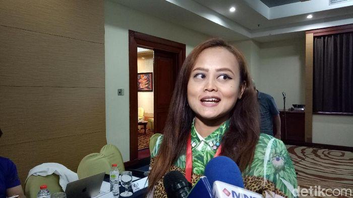 Presiden Persijap Jepara, Esti Puji Lestari. (Foto: Randy Prasatya/detikcom)