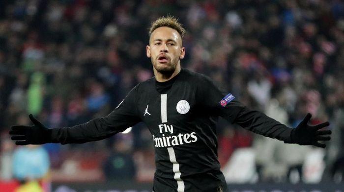 Penyerang Paris Saint-Germain Neymar. (Foto: Marko Djurica/Reuters)