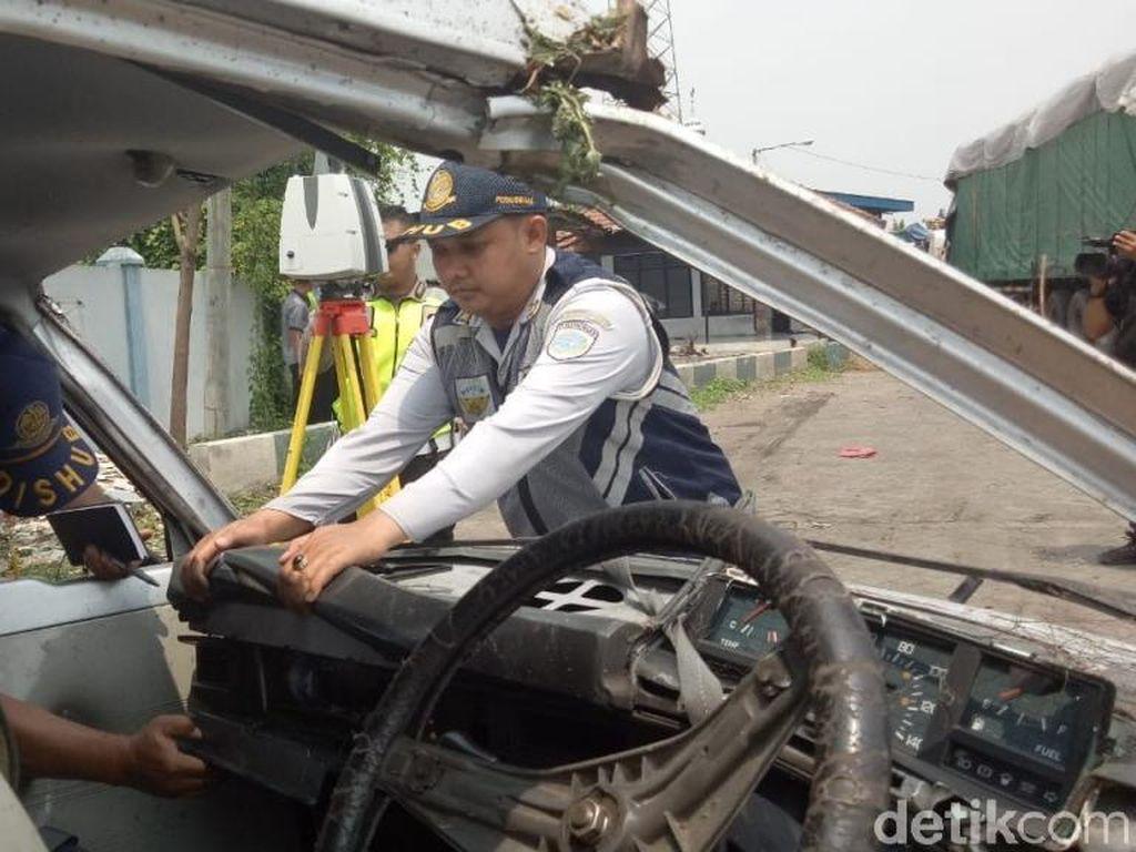 Polisi Sebut Kecelakaan KA Jayabaya Vs Mobil Akibat Kelalaian Sopir