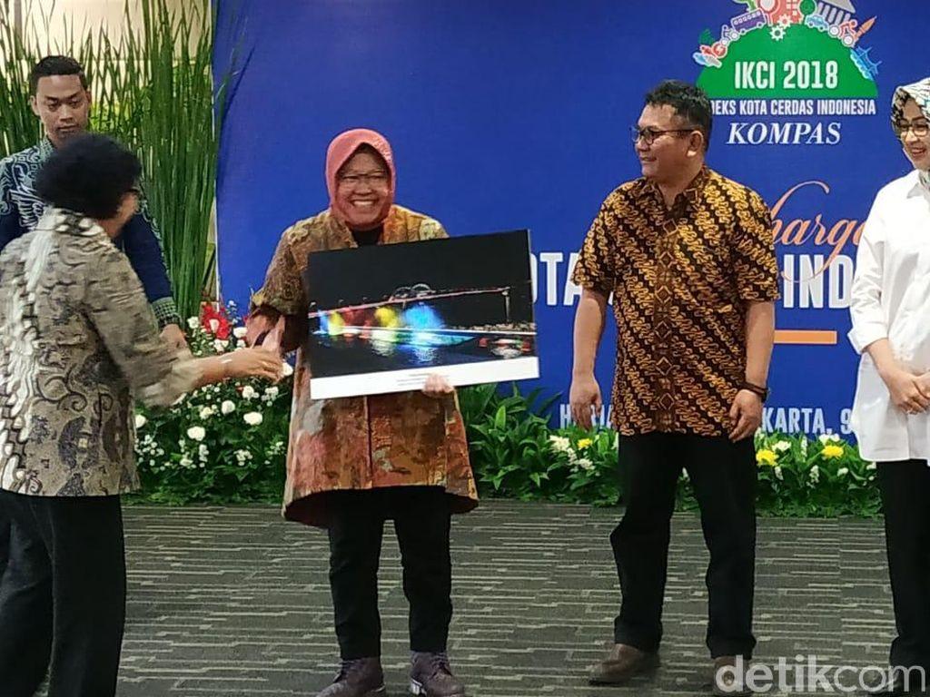 Surabaya Kembali Raih Peringkat Pertama Kota Cerdas 2018