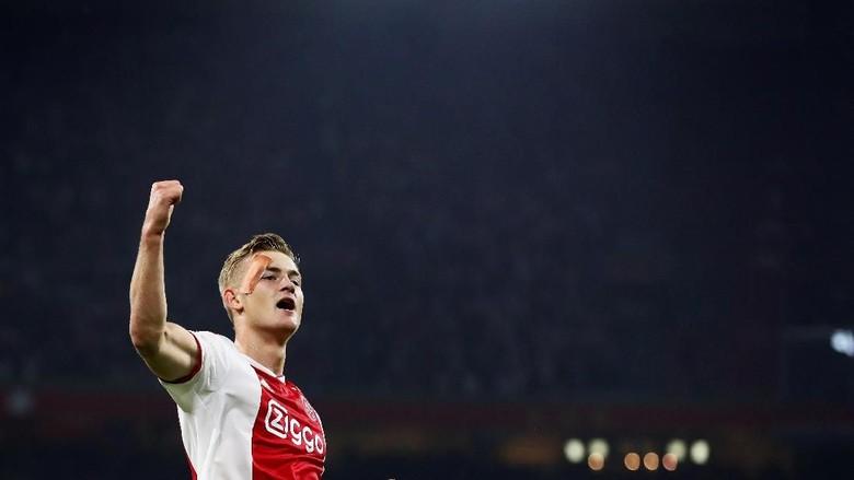Diincar Banyak Klub, Matthijs de Ligt Belum Mau Tinggalkan Ajax