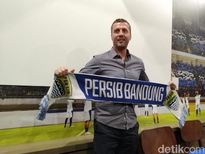 Pelatih Persib Bandung, Miljan Radovic. (Foto: Mukhlis Dinilah/Detikcom)