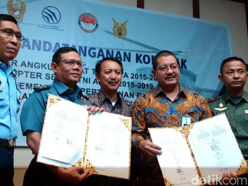 Kemenhan Pesan 17 Helikopter Buatan Bandung