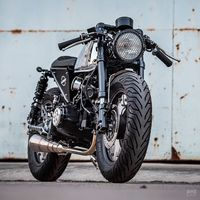 modifikasi motor Honda Monkey