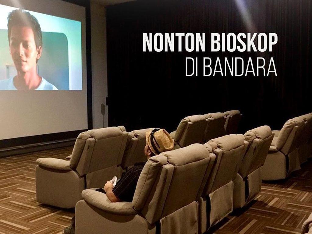 Asyik! Ada Bioskop Gratis di Bandara SAMS Sepinggan Balikpapan