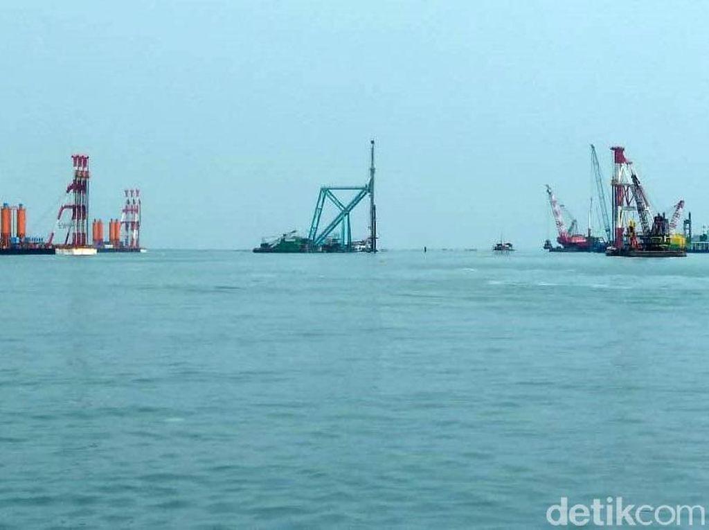 Pembangunan Tahap I Pelabuhan Patimban Sudah 25%