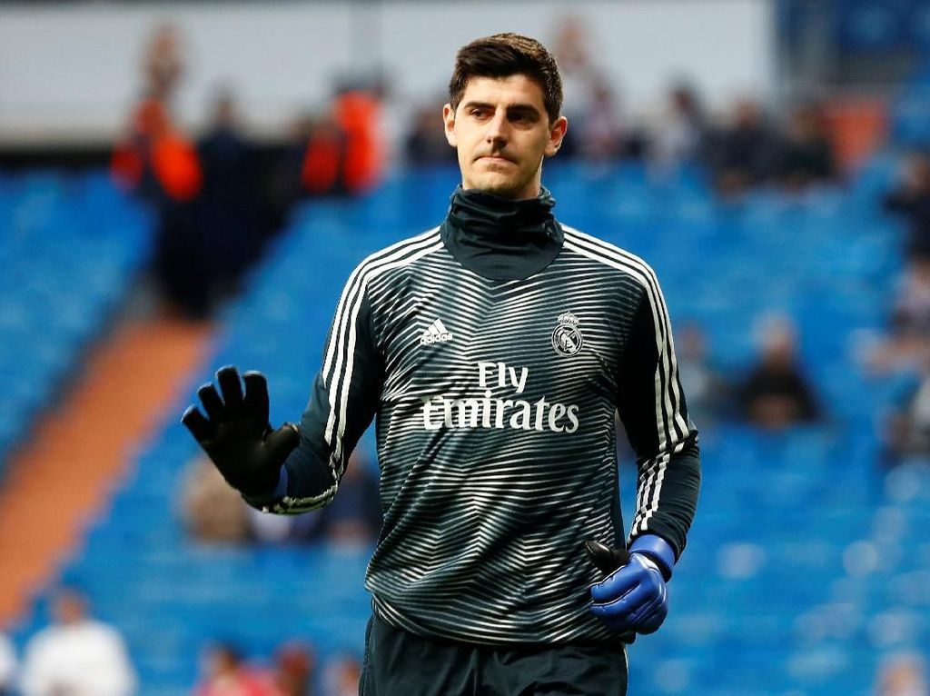 Courtois Tambah Daftar Cedera Madrid
