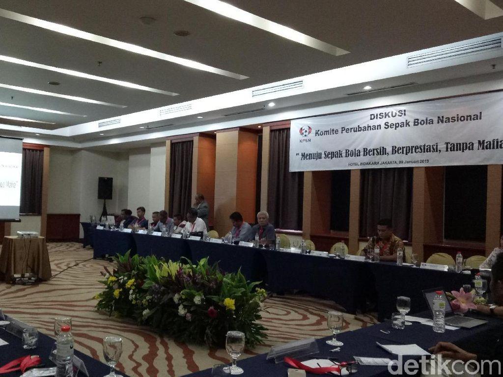 PSSI Diguncang Pengaturan Skor, Perwakilan Asprov Curhat ke KPSN