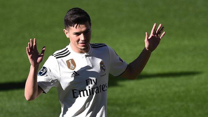 Brahim Diaz direkrut Real Madrid di bursa transfer Januari 2019. Siapa sangka, Brahim yang mengawali karier di akademi Malaga, sempat menjadi anak gawang. Kini, ia bisa menjadi salah satu pemain top di masa depan. (Foto: Denis Doyle/Getty Images)