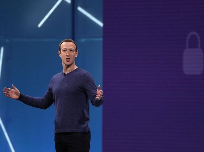 Mark Zuckerberg. Foto: Justin Sullivan/Getty Images