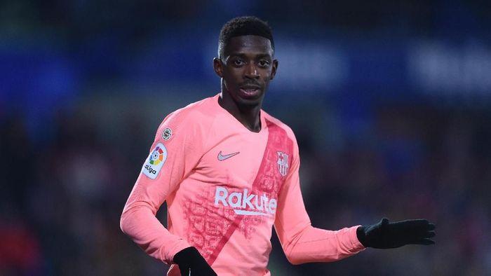 Ousmane Dembele berbakat tapi sedikit gila, menurut Thomas Tuchel. Foto: Denis Doyle/Getty Images