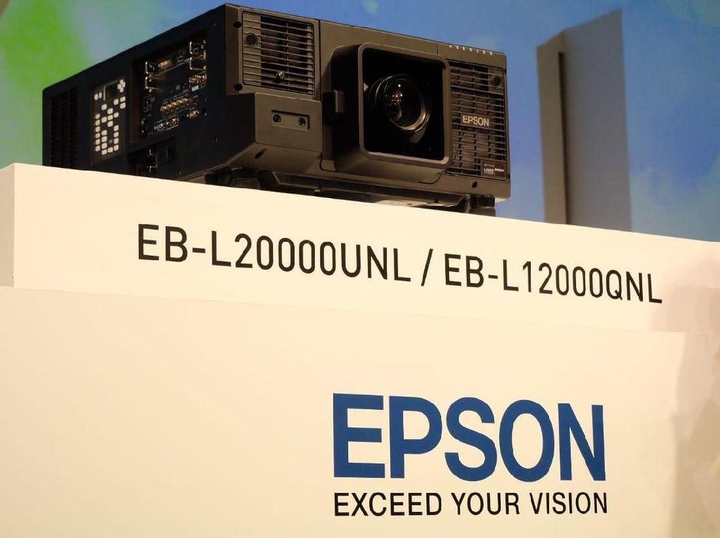 Epson Kenalkan Duet Proyektor Laser Anyar