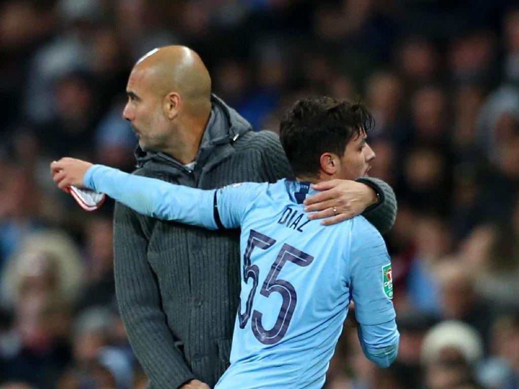 Pep ke Diaz: Selamat, Semoga Sukses di Madrid