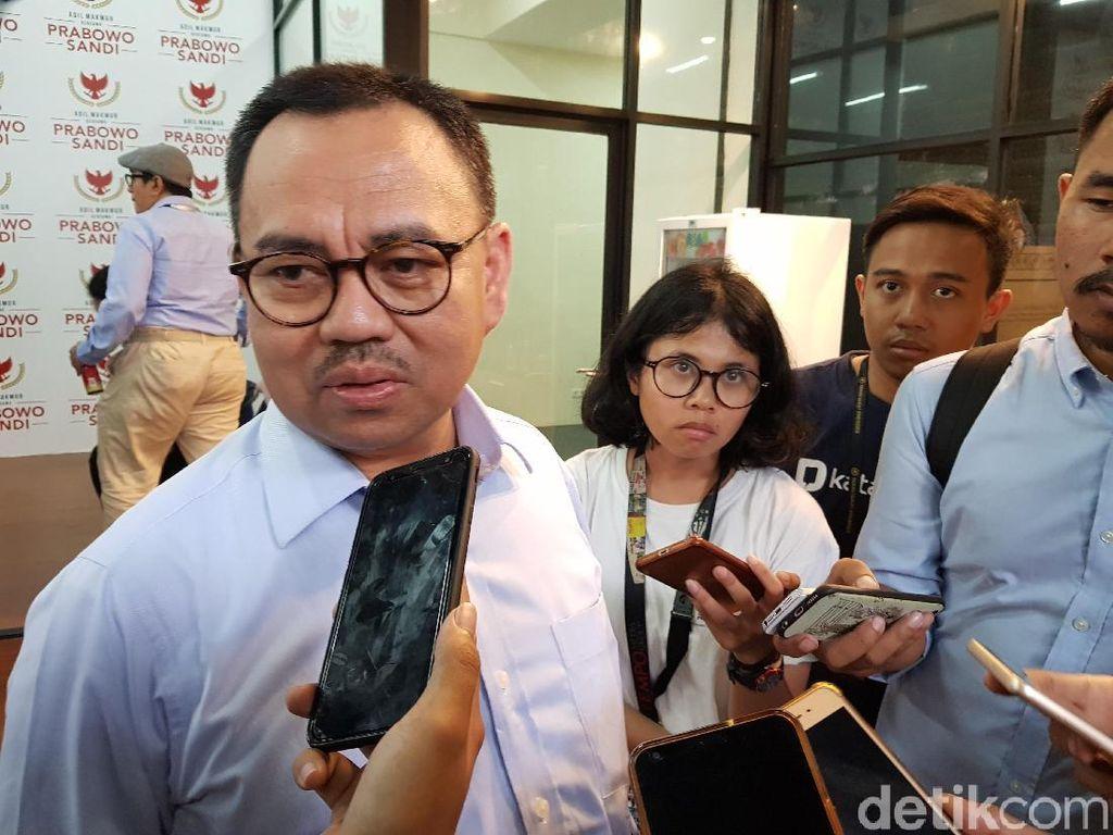 Jelang Debat Kedua, BPN Prabowo Minta Masukan Anggota DPR Partai Koalisi