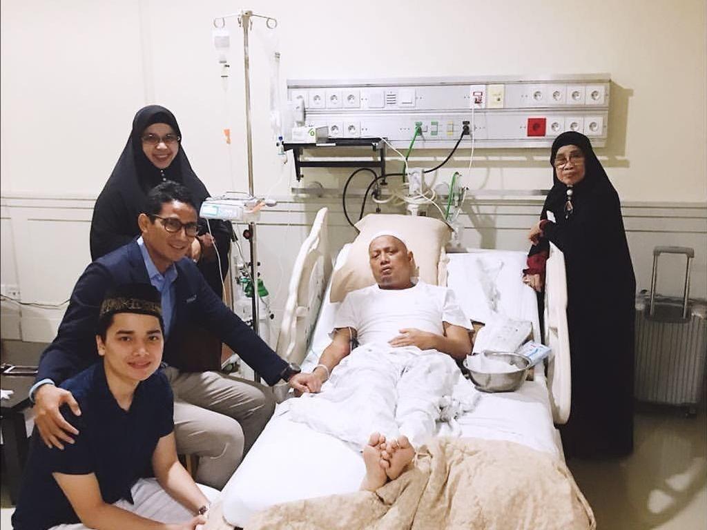 Putra Ustaz Arifin Ilham Belum Mau Komentar Banyak soal Kondisi Ayahnya