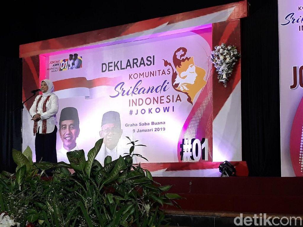 Visi Misi Soal Emak-emak, TKN: Jokowi Lebih Terbukti