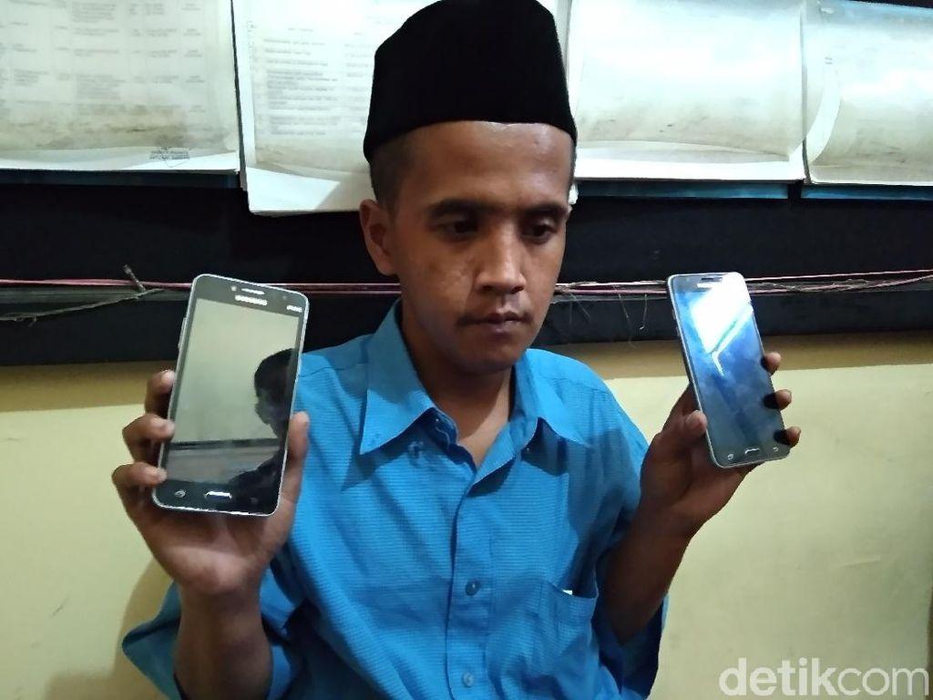 Aksi Pencuri Ponsel Mahasiswa KKN di Situbondo Terekam CCTV