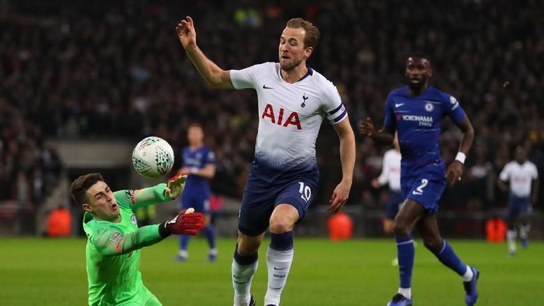 Hasil Piala Liga Inggris: Penalti Kane Menangkan Tottenham atas Chelsea