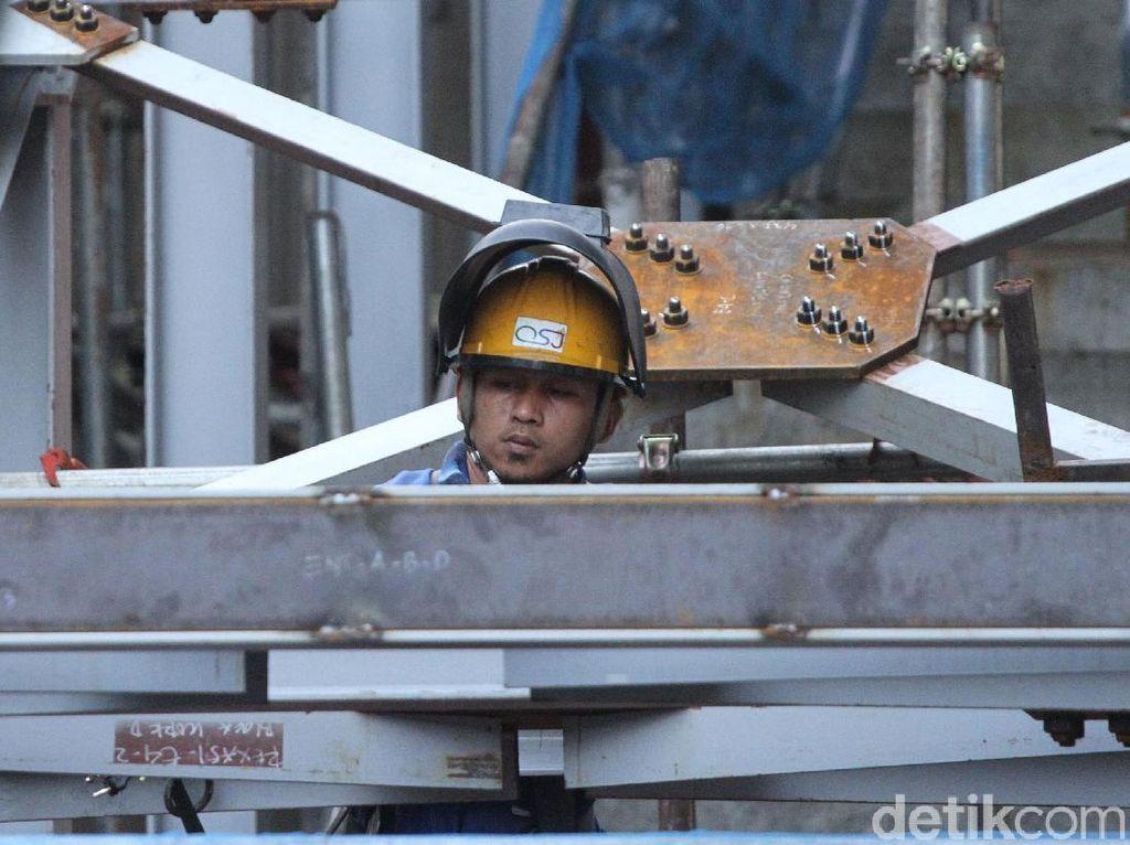 Menaker Sebut Pembangunan MRT Jakarta Libatkan 10.000 Orang Lebih
