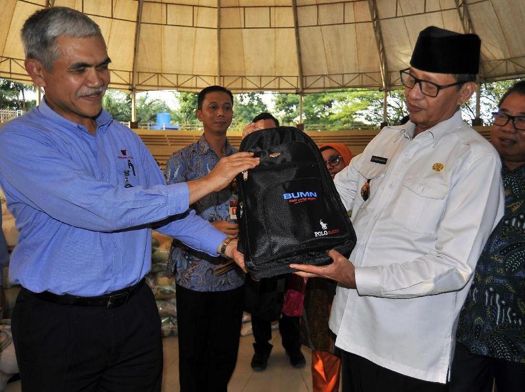 BUMN Peduli untuk Korban Bencana Tsunami Selat Sunda