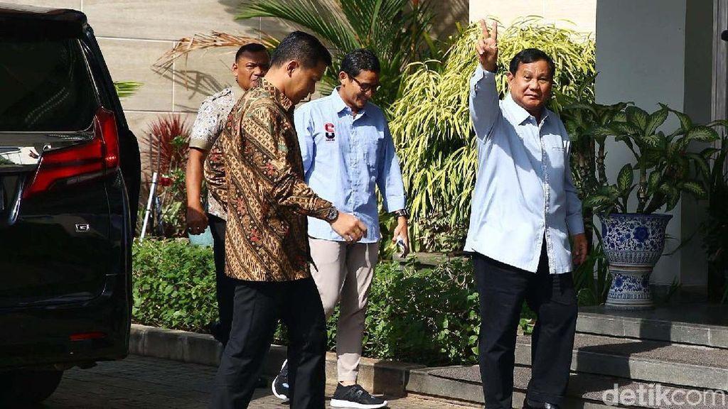 Lagi, Prabowo-Sandi ke Rumah SBY, Ada Apa?