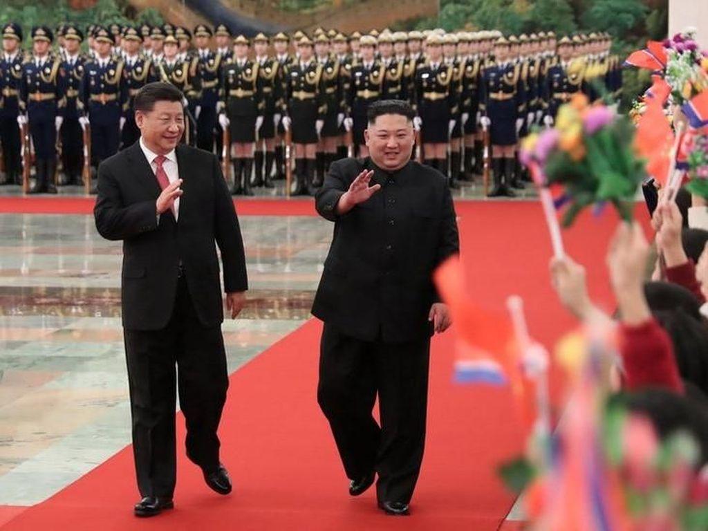 China Dukung Kim Jong-Un Gelar Pertemuan dengan Trump