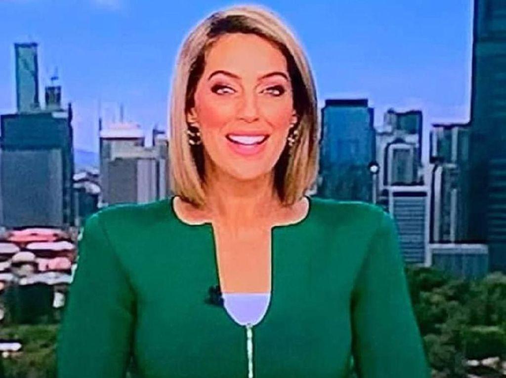 Tampil di TV, Presenter Berita Viral karena Bentuk Jaketnya Mirip Penis
