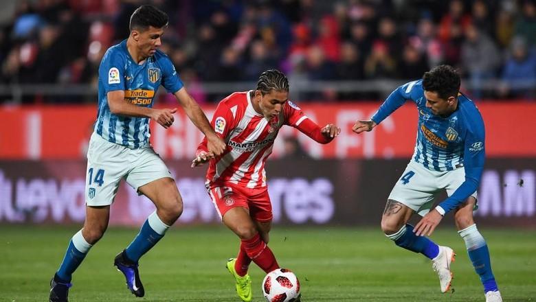 Hasil Copa del Rey: Atletico Diimbangi Girona 1-1