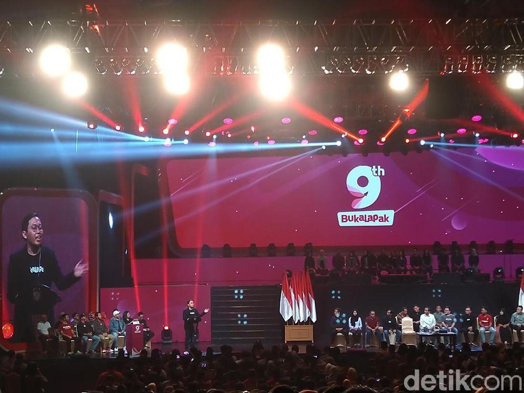 9 Tahun Bukalapak: Dari Nol, Kini Investasi Rp 1 T ke Warung
