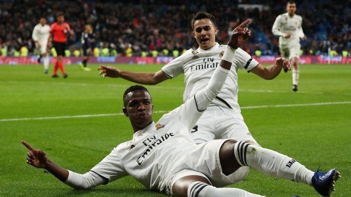 Real Madrid kalahkan Leganes 3-0 di leg pertama 16 besar Copa del Rey (Susana Vera/REUTERS)