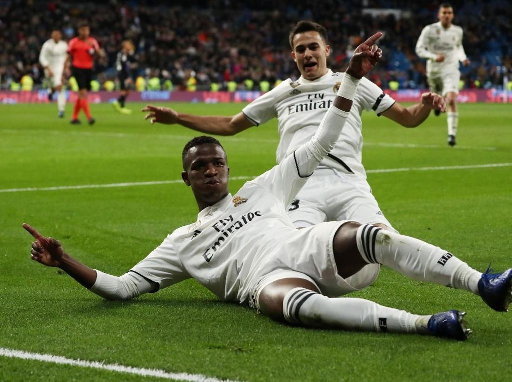 Hasil Copa del Rey: Real Madrid Hantam Leganes 3-0