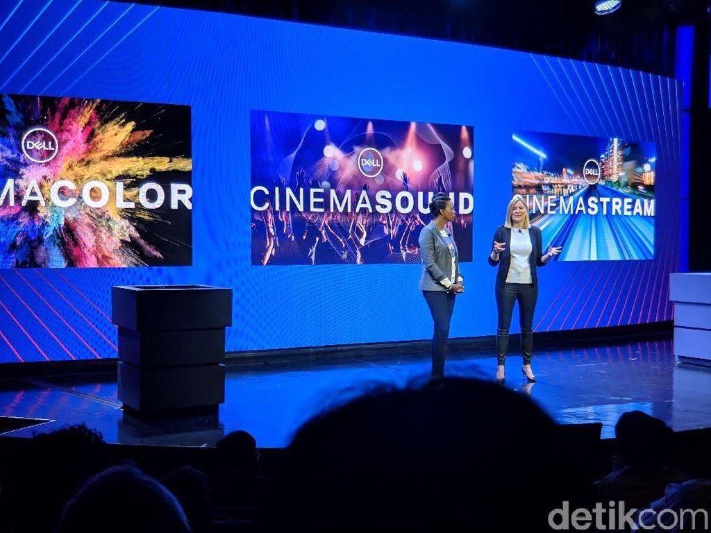 Nonton Video di Layar Laptop Jadi Asyik berkat Dell Cinema