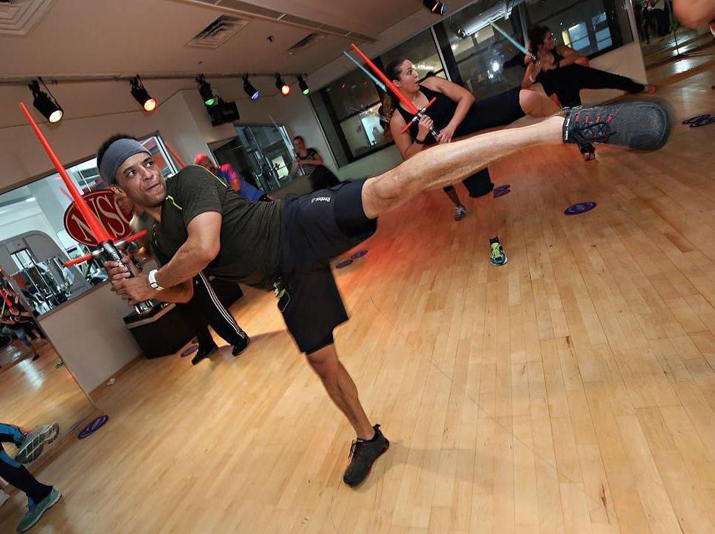 Di Gym Ini Kamu Bisa Olahraga untuk Jadi Kesatria Jedi