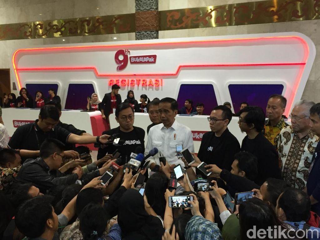 Datang ke Ultah Bukalapak, Jokowi Minta UKM Go Online