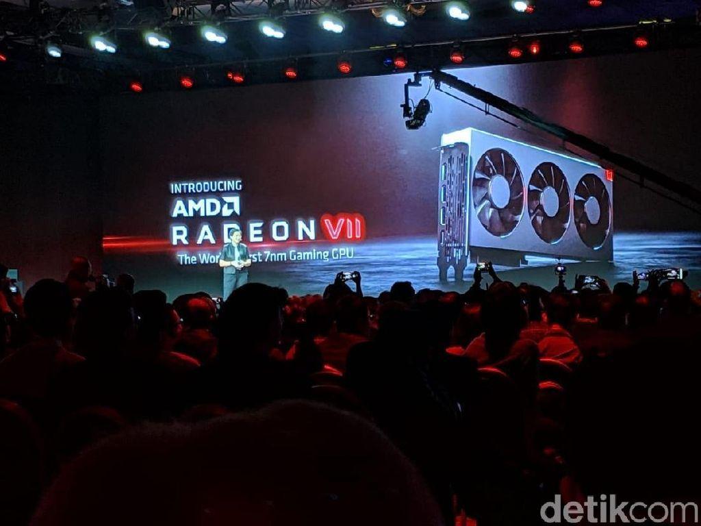 AMD Umumkan Kartu Grafis 7nm Pertama di Dunia