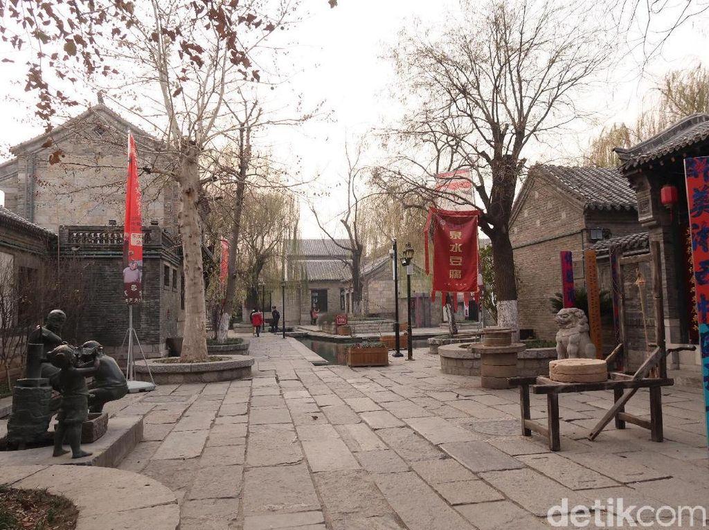 Foto: Kota Tua Baihuangzhou yang Instagramable
