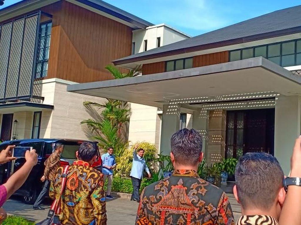 Biru-biru, Prabowo-Sandiaga Temui SBY di Mega Kuningan
