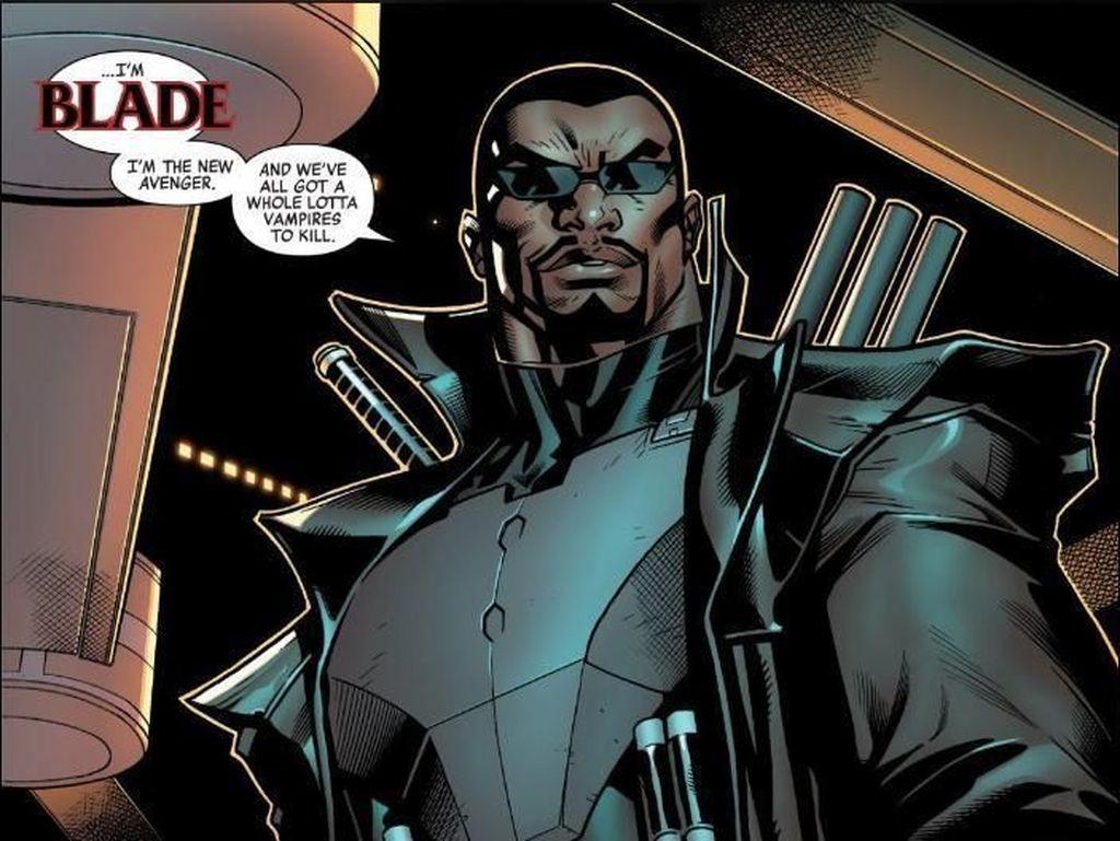 Debut Resmi di Komik Avengers #12, Blade Gabung di Avengers