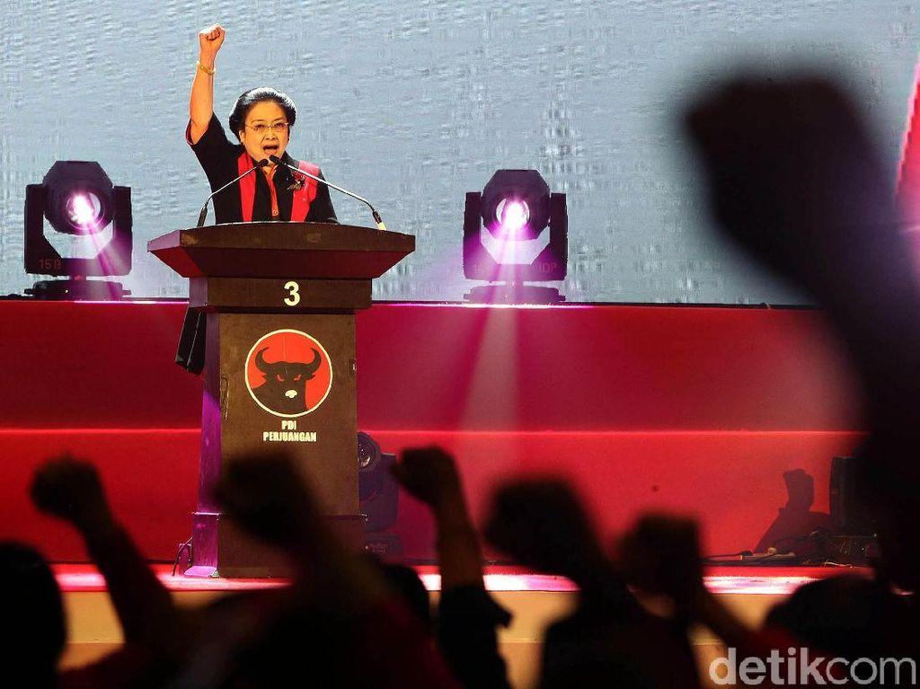 Semangat Megawati Hingga Jokowi di Perayaan HUT PDIP