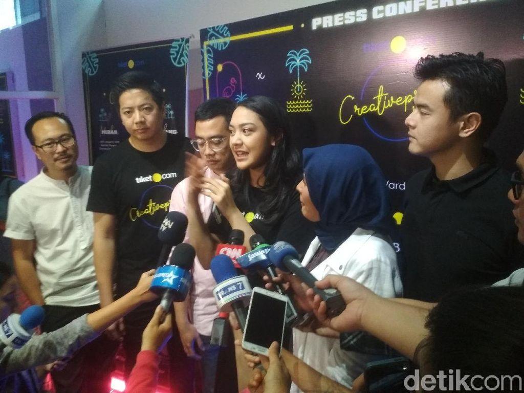 Dian Sastro hingga Chairul Tanjung Isi tiket.com Creativepreneur Corner 2019