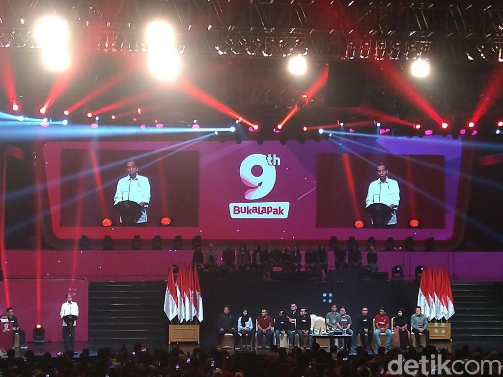 Pesan Jokowi untuk Bukalapak yang Sedang Ultah ke-9