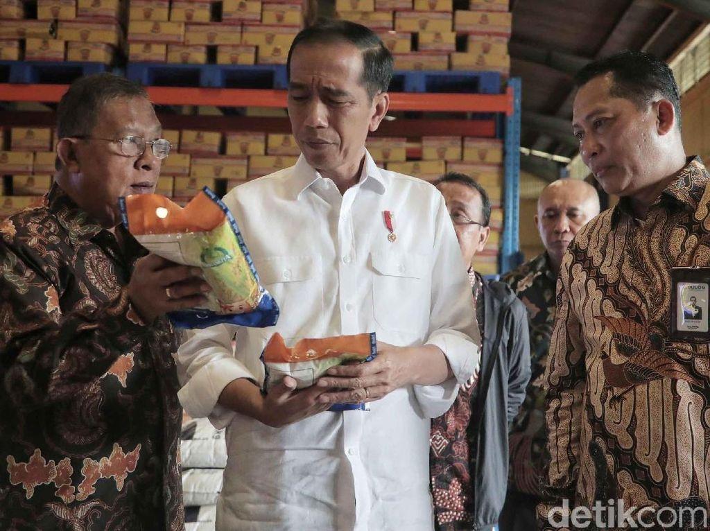 Soal Beras, Jokowi: Produksi Kalau Tidak Cukup Ya Harus Impor