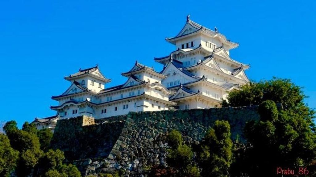 Foto: Kastil Himeji yang Megah yang Konon Ada Hantunya