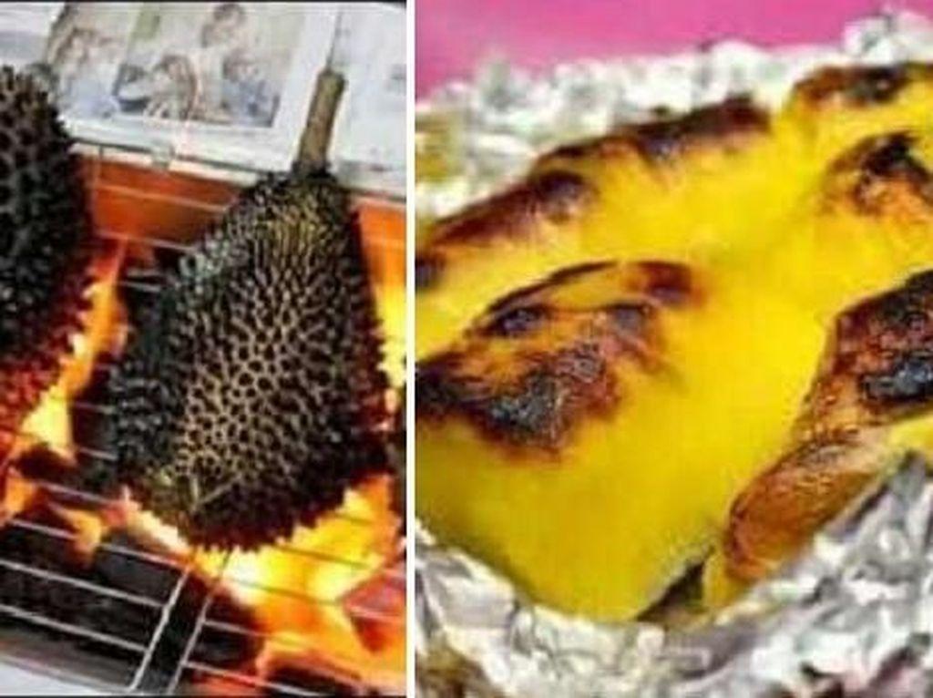 Pencinta Durian Harus Cicip Durian Bakar yang Lembut Manis Ini