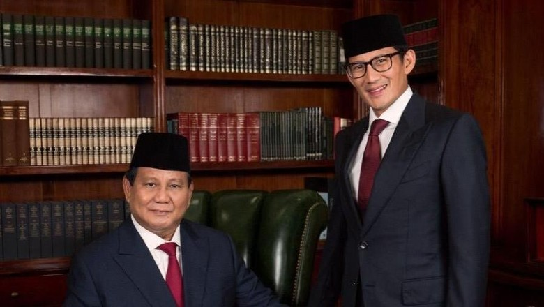 Ditolak, Revisi Visi-Misi Prabowo-Sandi Tak Lagi Muncul di Situs KPU