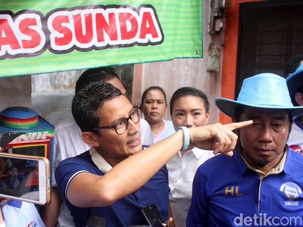 Sandiaga Tak Masalah Kasus PT DGI Disinggung Timses Jokowi