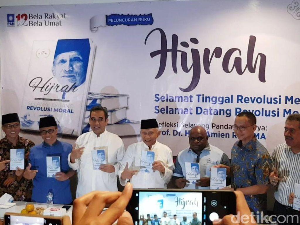 Amien Rais Luncurkan Buku Revolusi Moral: Revolusi Mental Jokowi Tak Jelas