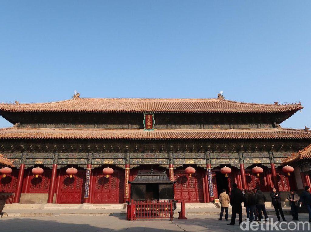 Foto: Kelenteng Tertua China yang Misterius