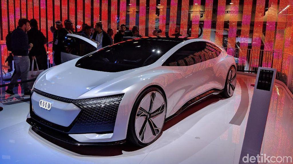 Melihat Mobil Otonom Audi Langsung dari Las Vegas